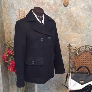Gap 🌹gorgeous coat jacket Pea coat doubled pocket